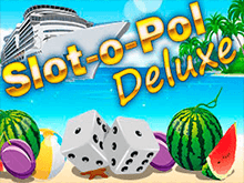 На зеркале аппараты Slot-O-Pol Deluxe